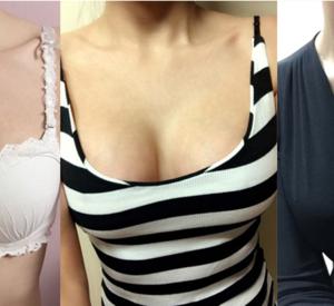 胸大了穿什么衣服都好看
